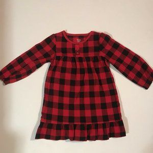 Carter's Girls Size 3T Red & Black